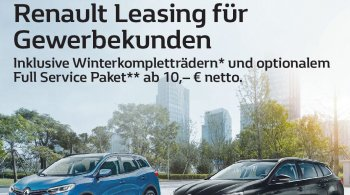 April 2019: Renault Leasing