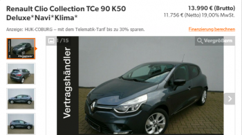Renault Clio Collection TCe90 K50